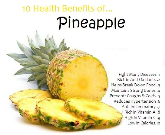 Benefits of pineapple