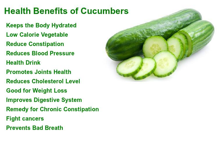 Health+Benefits+of+Cucumbers